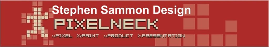 Stephen Sammon Design Studio Pixelneck