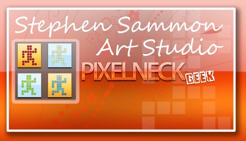 Stephen Sammon Art Studio Pixelneck