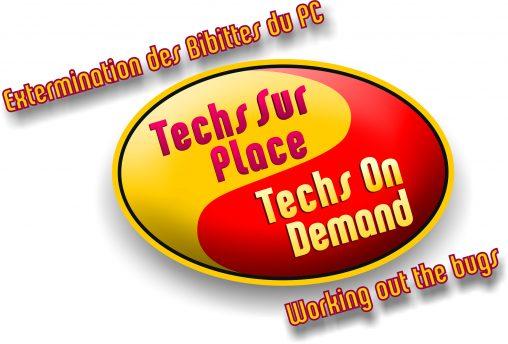 Bilingual Logo design for computer tech service company