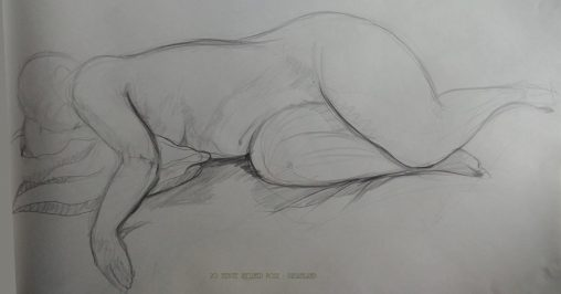 Life Drawing 20 minute pose - dreamland
