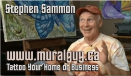 Stephen Sammon Mural Guy Art Studio