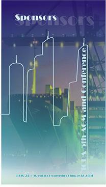 Miami ICPA conference Vertical booklet cover design